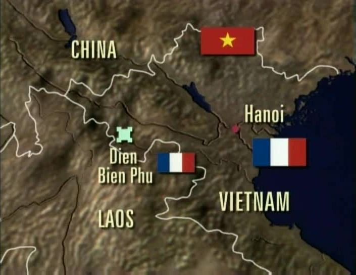 Image result for the battle of dien bien phu in 1954