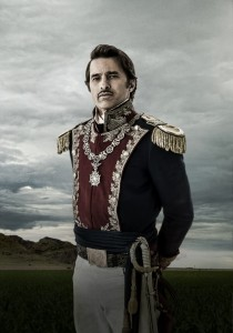 Gen. Santa Anna is usually portrayed almost as a cartoon villain. Yet he was the most significant figure in mid-19th Century Mexican history.Supposedly Texas Rising will handle this with more… nuance.