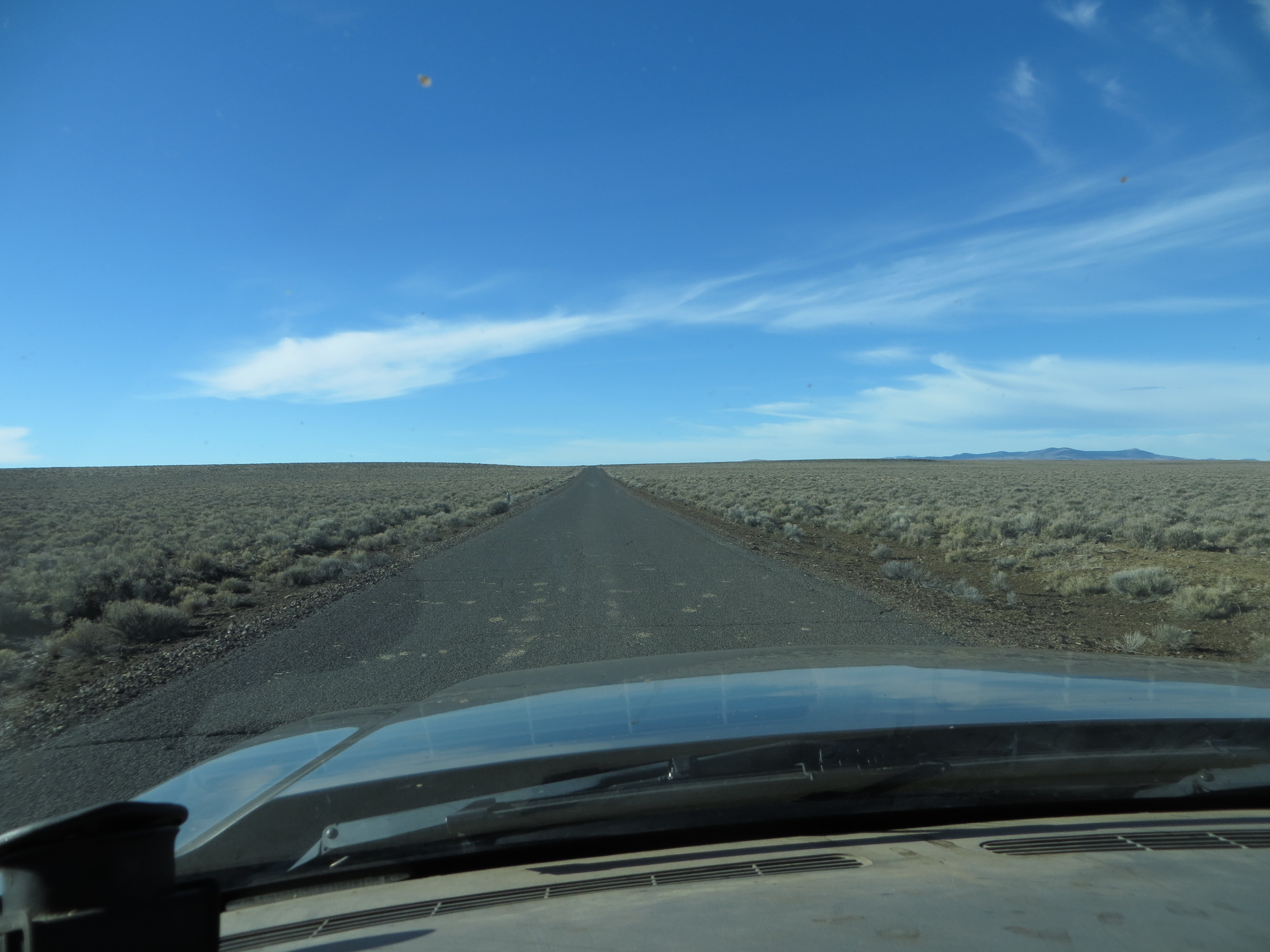 The Road Goes on Forever (apologies to Robert Earl Keen). Photo by Jim Cornelius