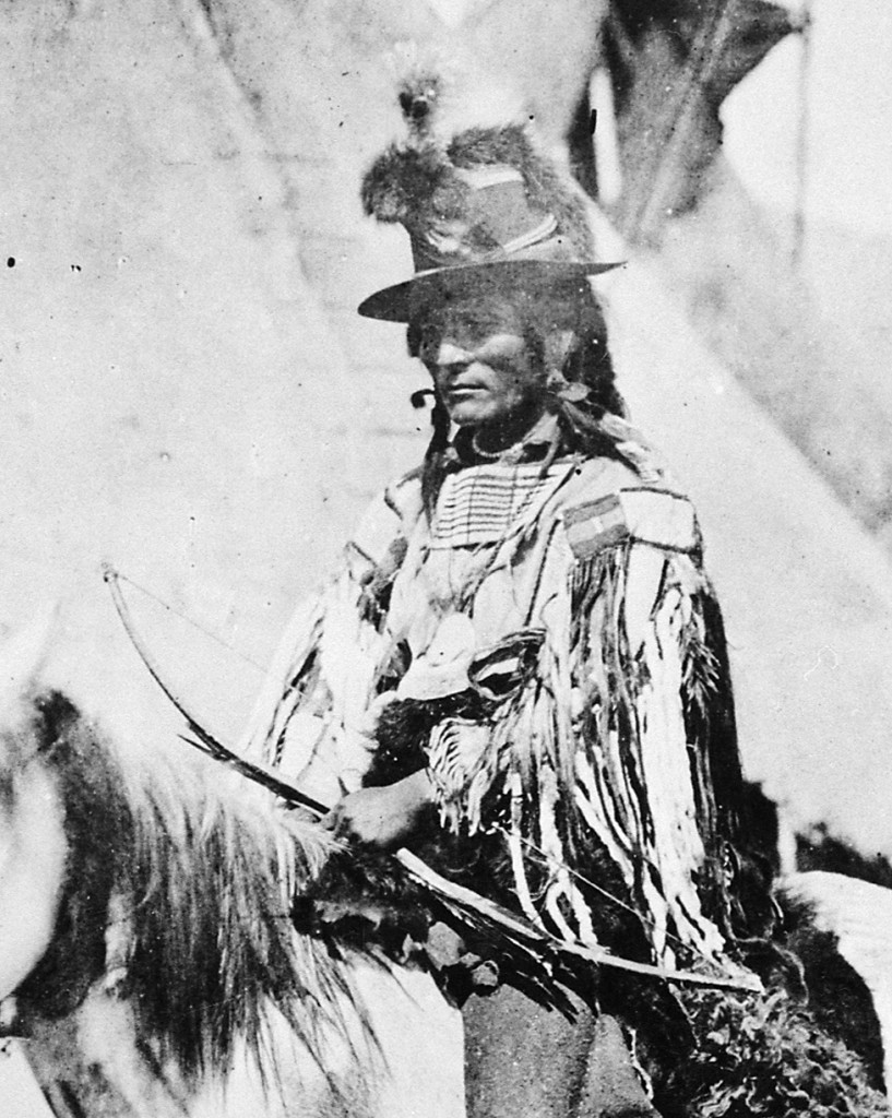 Looking Glass conducted a savvy fighting retreat, but he was taken by surprise short of the Canadian border. He died at the hands of a Cheyenne scout for the U.S. Army.