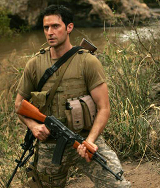 "John Porter was a disgraced SAS soldier forced back into harness in the original UK version of ""Strike Back."" Richard Armitage has a brutal scene in Cinemax's S:1-Ep1 that bridges the two series."