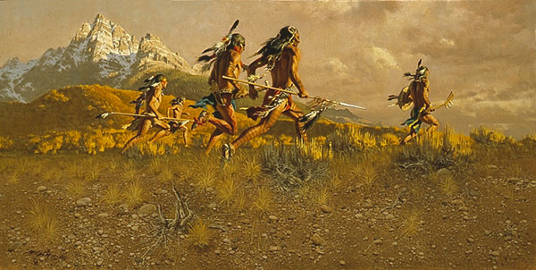 The Art Of Frank Mccarthy Frontier Partisans