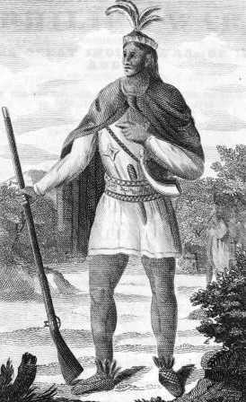 Metacomet, known to the English as King Philip.