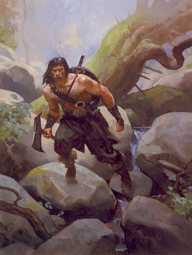 """Beyond the Black River"" is a frontier story set in Robert E. Howard's Hyborian Age."