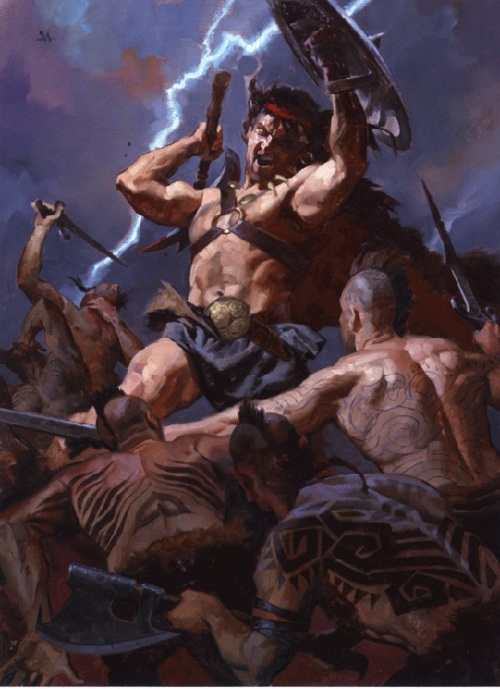Art by Greg Manchess.