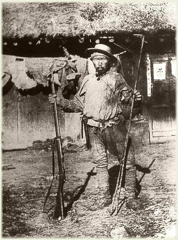Dersu the Trapper. Woodsman extraordinaire.