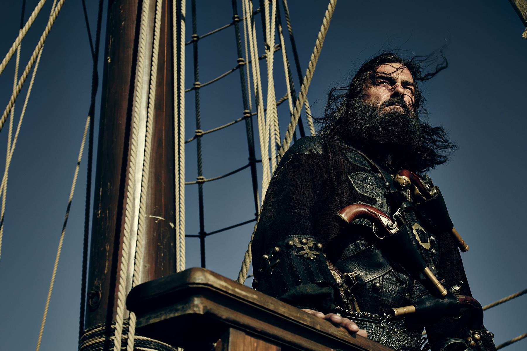 The dread Blackbeard.