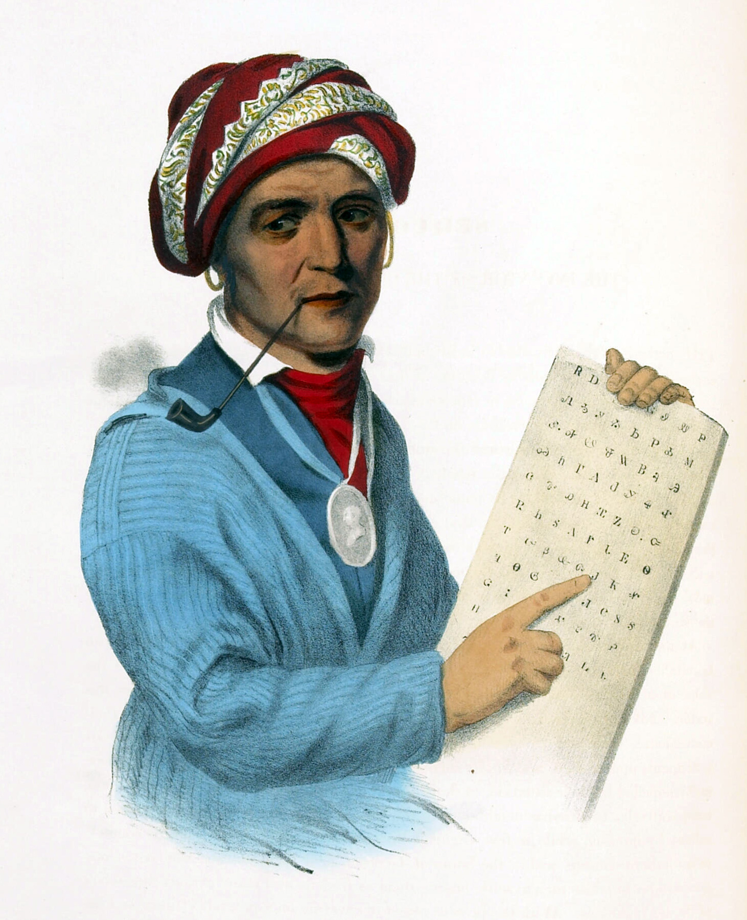 Sequoyah created a written language for Cherokee, but it isn't saving it from the threat of extinction.