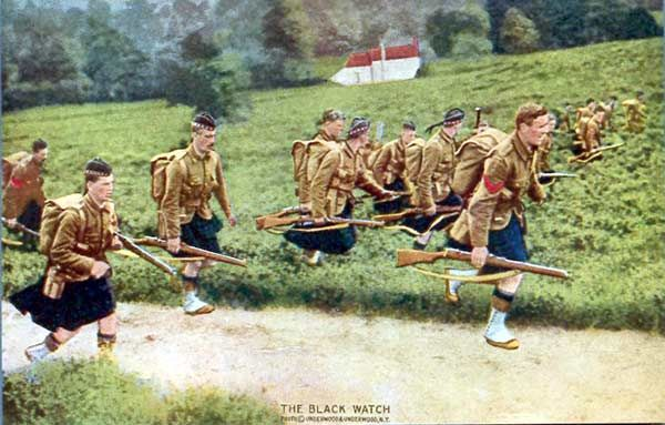 The Black Watch, World War I.