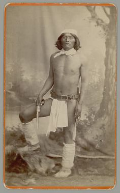 A Yavapai or Tonto Apache. J.B. Townsend slew dozens of these people.
