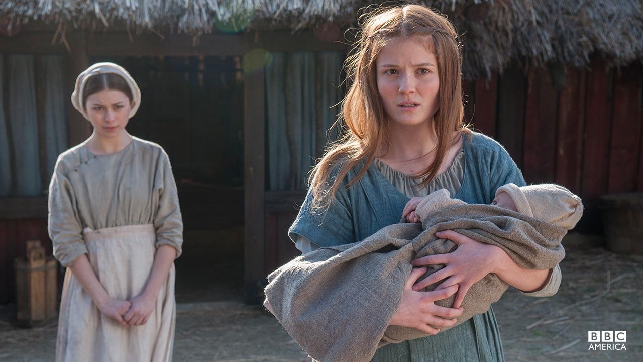 Mildrith, Uthred's Christian wife.