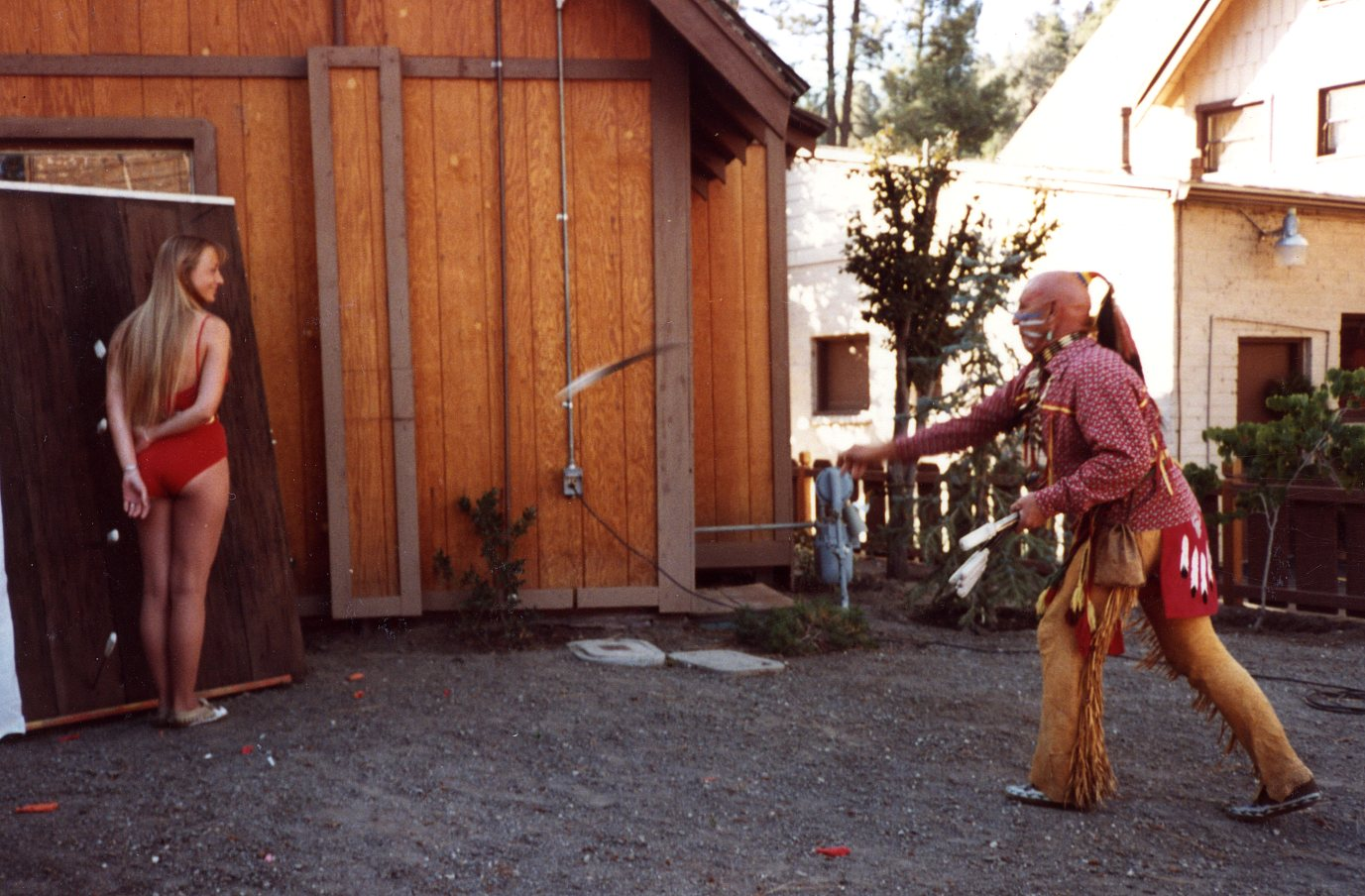 A scene I witnessed many times in my old stomping grounds in Wrightwood, California.