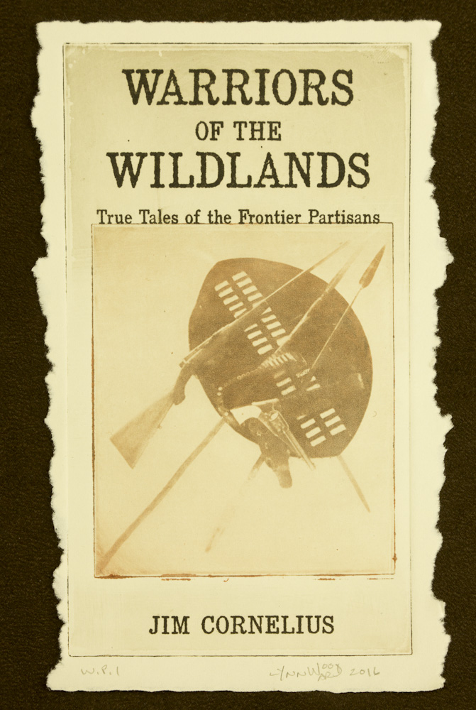 Warriors of the Wildlands cover intaglio, WP 1