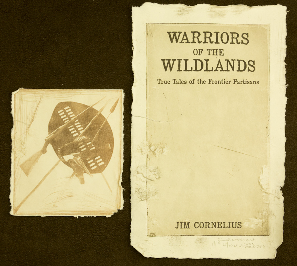 Warriors of the Wildlands cover intaglio, WP 10