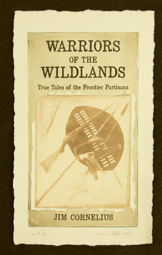 Warriors of the Wildlands cover intaglio, WP 2