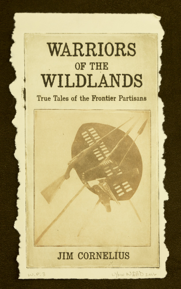 Warriors of the Wildlands cover intaglio, WP 3